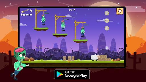 Télécharger Gratuit Save Zombie : Bow Master apk mod screenshots 5