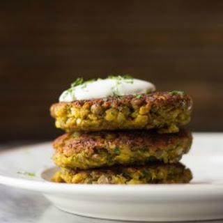 Mini Curried Lentil Cakes Recipe