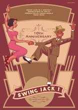 Photo: Swing Jack 10th anniversary poster 2013