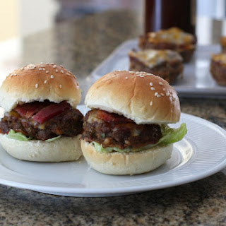 Easy Meatloaf Sliders.