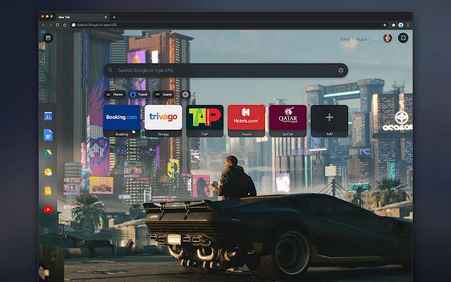 Cyberpunk 2077 | New Tab Theme