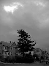 Photo: Main Street, Malden under the stormy sky