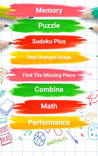 3 - 12 age educational brain games for kids screenshot 1