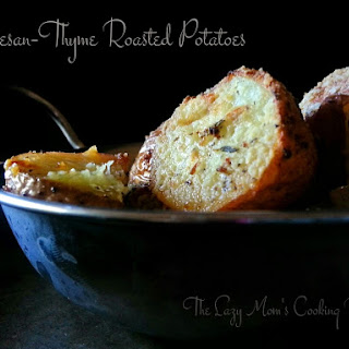 Parmesan-Thyme Roasted Potatoes