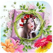 Flower Photo Frames Editor!