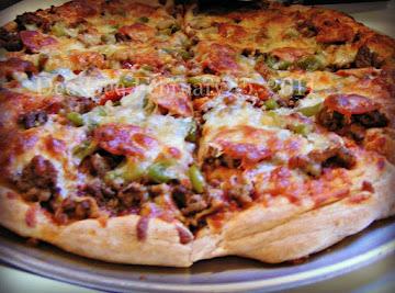 3-meat Pizza Recipe