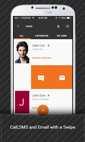 android Bric - Biz Card Manager Screenshot 3