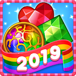 Jewels fantasy : Amazing match 3 puzzle time 1.1.1