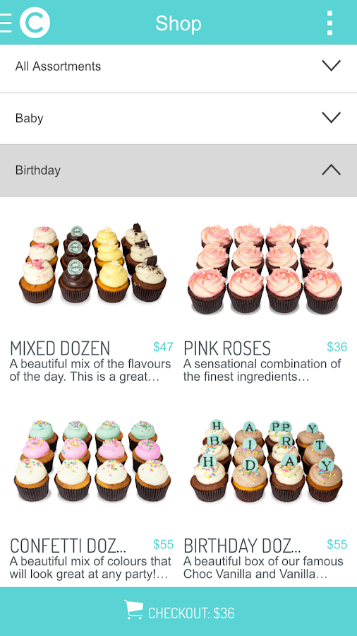 The Classic Cupcake Co.- screenshot