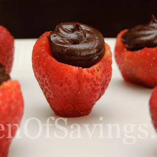 Inside Out Chocolate Strawberries.