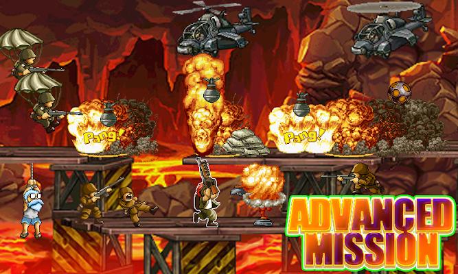 Advanced Mission - Mad Slug 4 - screenshot