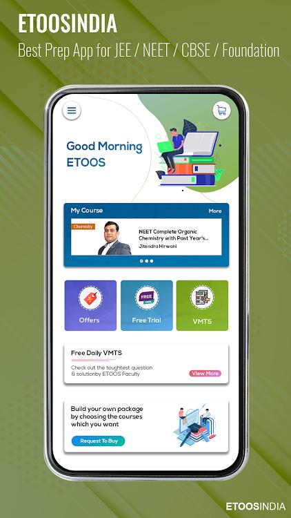 EtoosIndia: IIT JEE,NEET,CBSE,Foundation Prep App – (Android Apps
