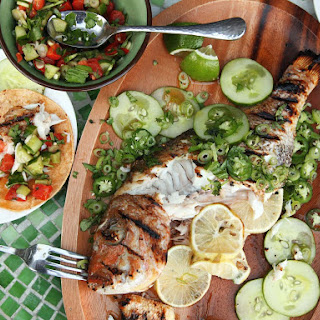 Whole Grilled Fish Tacos.