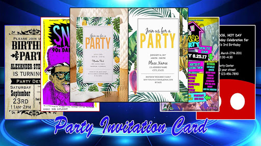 Party Invitation Card Design App Apk Free Download For