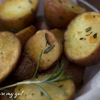 Instant Pot Crispy Rosemary Roasted Potatoes.