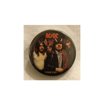 AC/DC - Highway To Hell - Badge