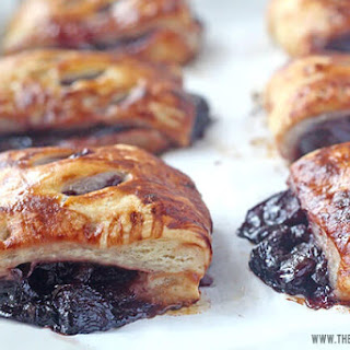 Cherry Turnovers with Homemade Cherry Pie Filling.