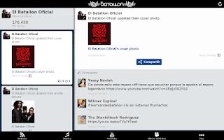 Screenshot of El Batallón