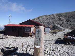 南岳小屋1(奥の南岳へ)