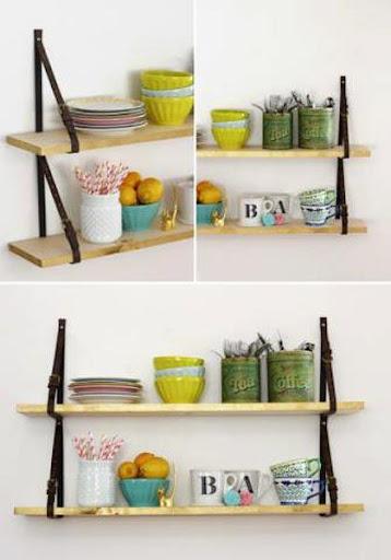 DIYの棚のデザインのアイデア