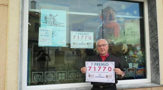 Los Reyes llegan antes de tiempo con un primer premio de la lotería