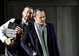 Photo: Theater an der Wien: La mère coupable Oper in drei Akten von Darius Milhaud . Premiere am 8.5.2015, Aris Argiris, Andrew Owens. Copyright: Barbara Zeininger