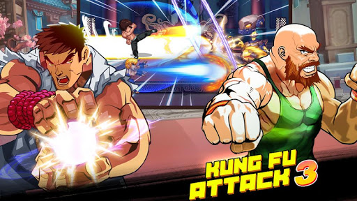Kung Fu Attack 3 - Fantasy Fighting King apkmind screenshots 2