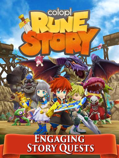 Colopl Rune Story v1.0.27.1 APK (Mod)