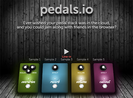 Pedals.io – Guitar effects in the cloud
