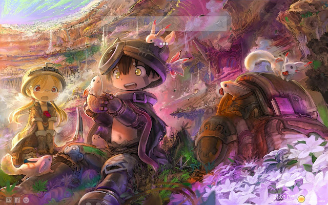 Made In Abyss Themes & Made In Abyss Games
