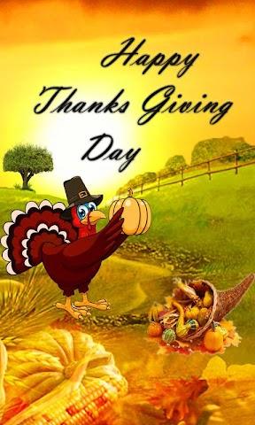 android Thanksgiving Day Wallpaper Screenshot 3