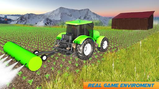 Snow Tractor Agriculture Simulator screenshot 8
