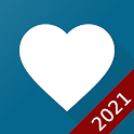 AVAX Blood Pressure Diary (ad-free) icon