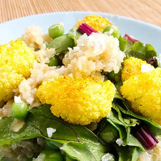 Dhal with Cauliflower.
