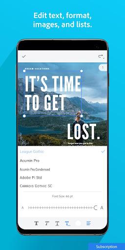 Adobe Acrobat Reader: PDF Viewer, Editor & Creator screenshot 6