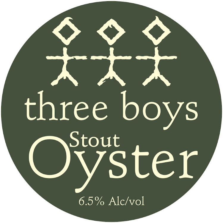 Logo of Three Boys Oyster Stout