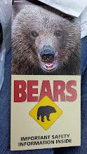 Photo: Yeah... we didn't see any bears :(