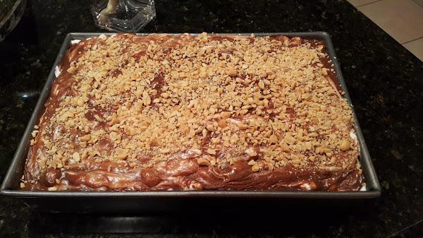 Rocky Road Chocolate Cake Recipe
