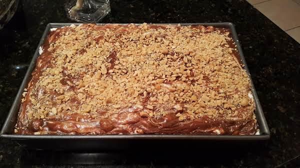 Rocky Road Chocolate Cake