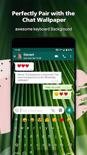 Rockey Keyboard -Transparent Emoji  Keyboard 1.19.2 Screenshots 4