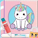 Cute Secret Diary: Secrets Keeper with Lock icon