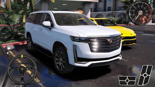 Parking Series Cadillac - Escalade SUV Simulator android2mod screenshots 1