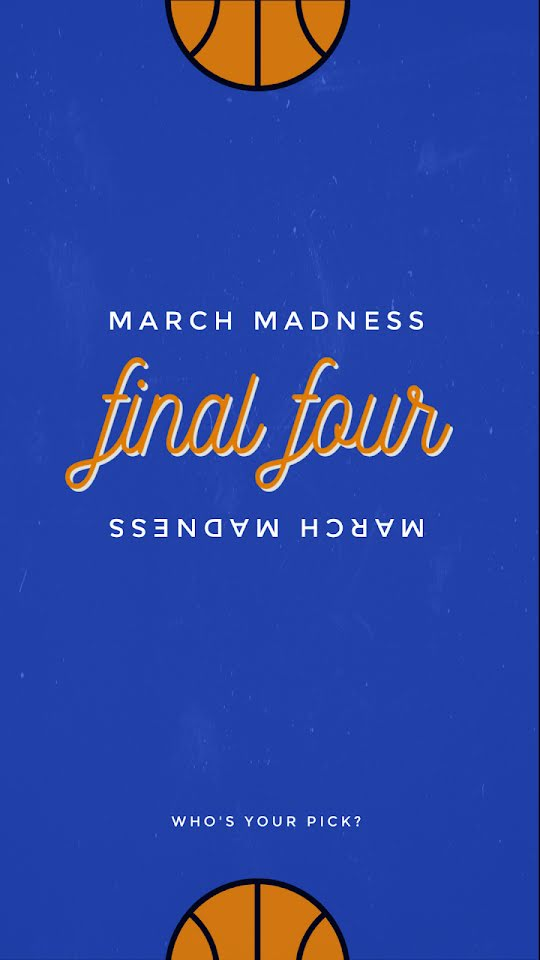 March Madness Final Four - Facebook Story Template