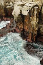 Photo: 美好的懸岩 今天浪大不適合攀登