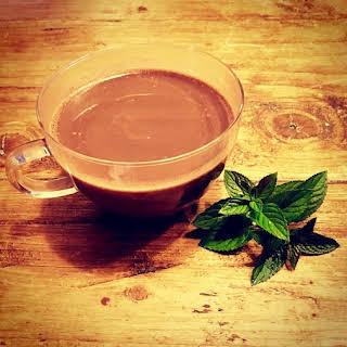 Mint Hot Chocolate.