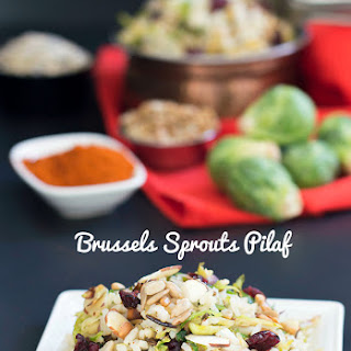 Rice Pilaf with Brussels Sprouts and Sunflower Seeds Recipe