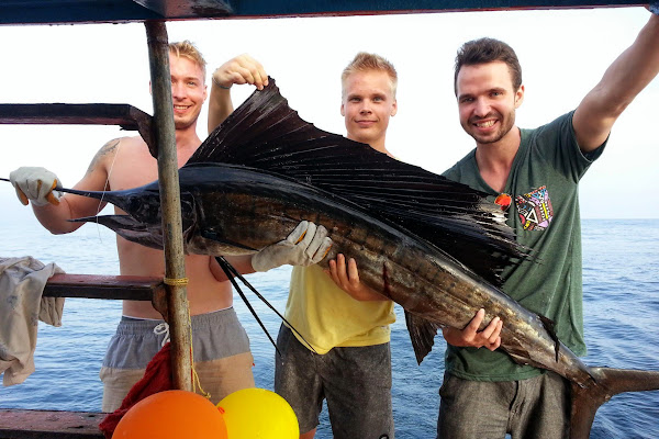 Marlin are a raere catch for the lucky ones