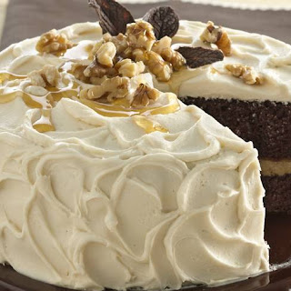 Maple-Walnut Chocolate Cake