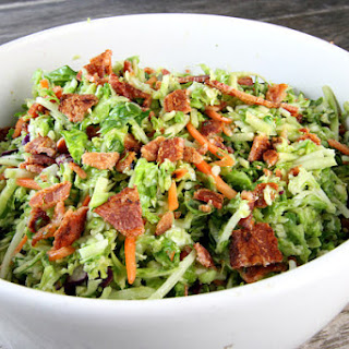 Bacon and Brussels Sprouts Salad.