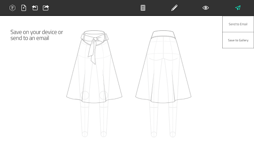 Fashion Design Flat Sketch 1.0 screenshots 10
